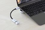 DC358 AluCable USB-C  adapter Just Mobile