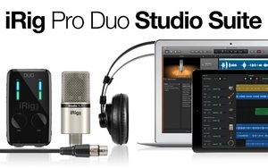 iRig Pro Duo Studio Suite IK Multimedia