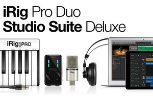 iRig Pro Duo Studio Suite DLX IK Multimedia